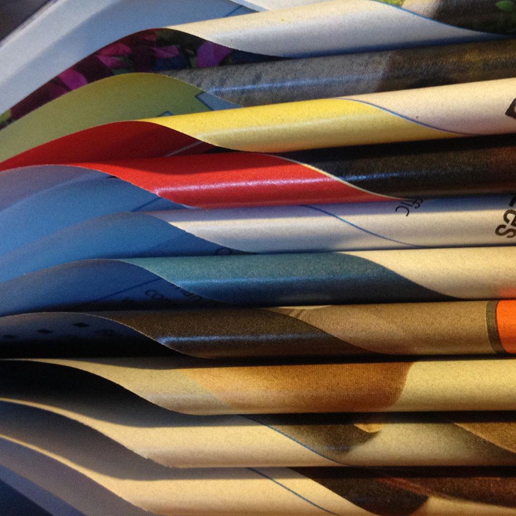 curled magazines