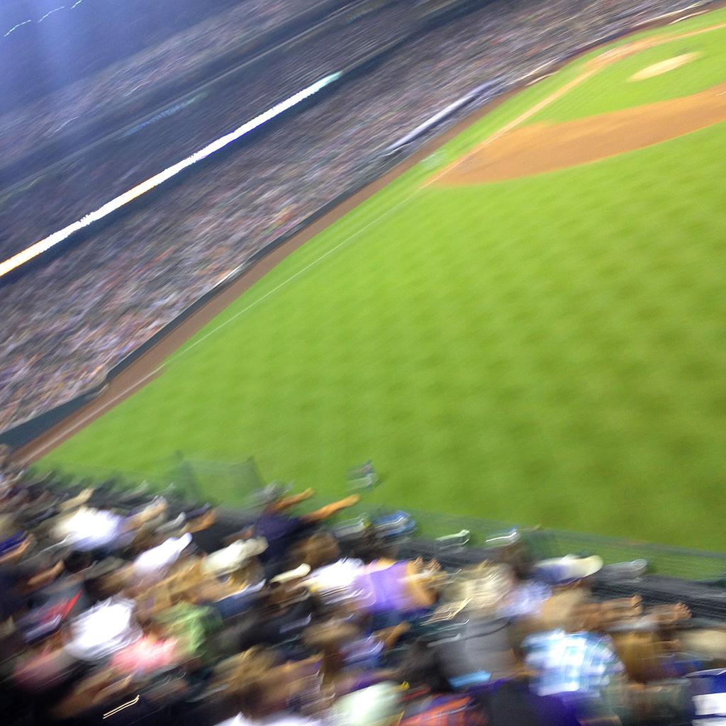 Coors Field Fans