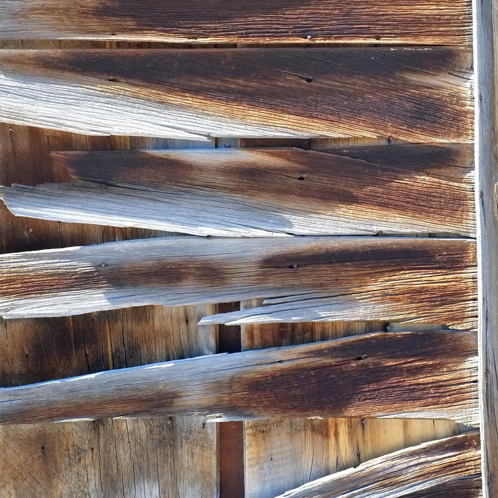 wood at Bodie