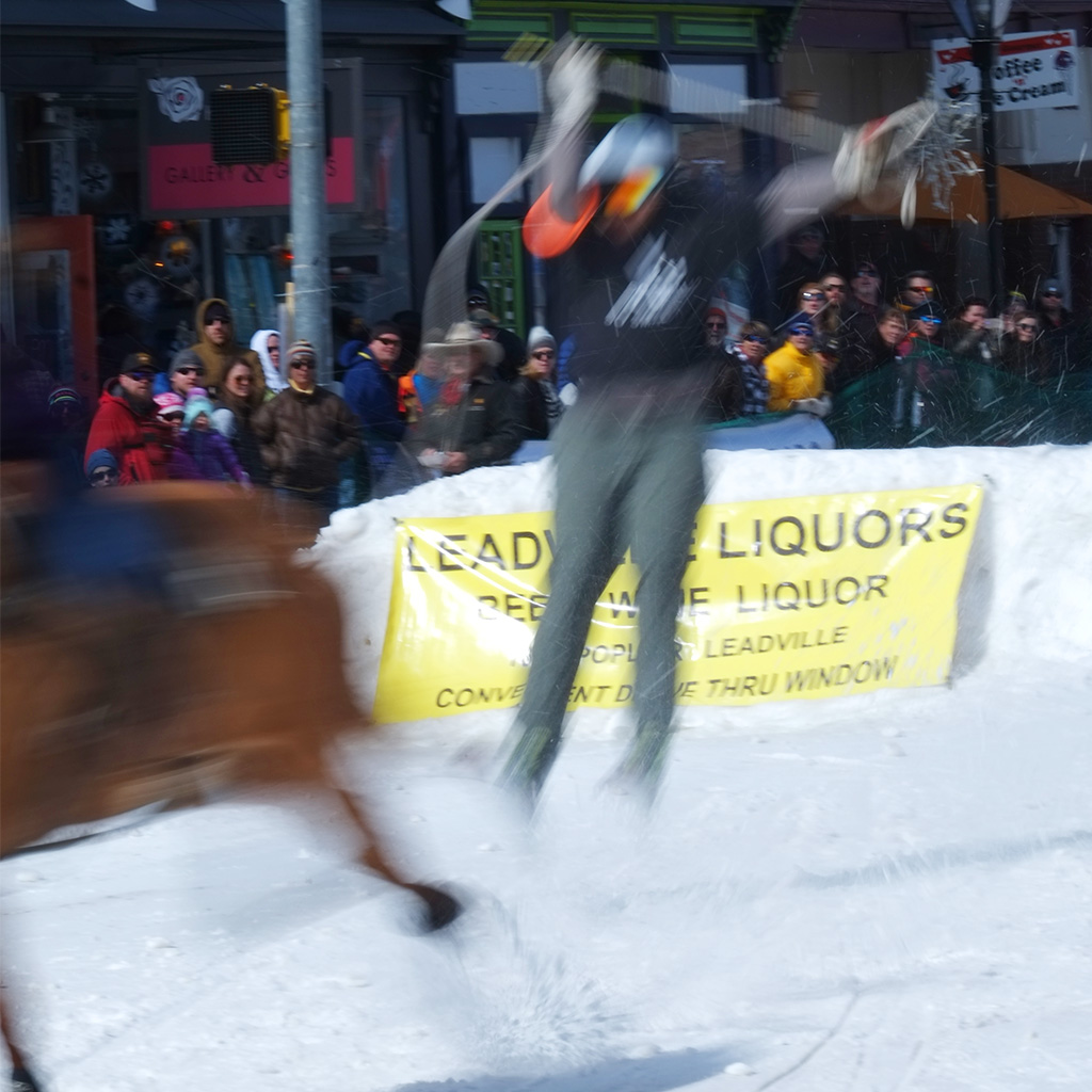 ski joring Leadville